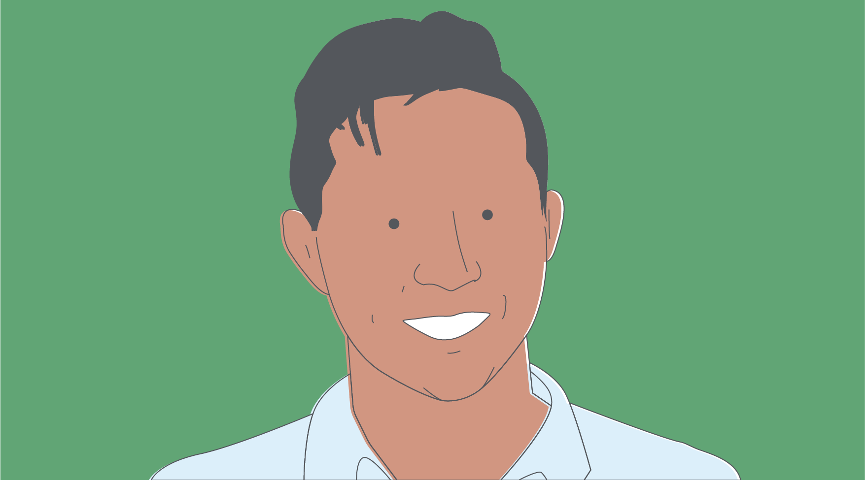Illustration of Derek Tam